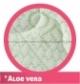 Na matrace používáme oblíbenou moderní variantu pletené textilie s úpravou Aloe Vera ve svěží zelenkavé barvě. Potah je příjemně měkký a hýčká každého uživatele. Aloe Vera zvyšuje měkkost a hebkost potahové látky, je všeobecně známá pro svou schopnost regenerace pokožky lidského těla. Složení textilie: 100% polyester, pratelný až na 60°C