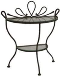 Noční stolek se sklem D0448 - SLEVA 35%